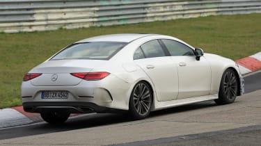Mercedes CLS - spyshot 2