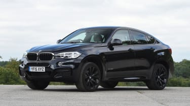 Used BMW X6 - front