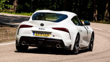 Toyota Supra - rear action