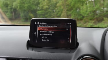 Mazda 2 - infotainment