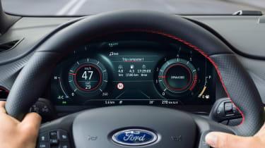 Ford Puma - dash mode