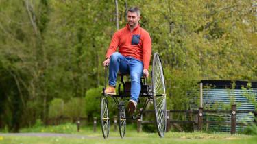 Trouvé's 'Salvo' Tricycle