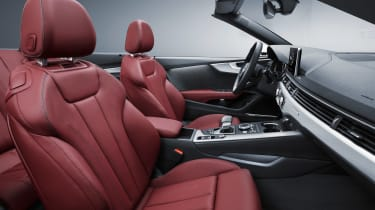New Audi A5 Cabriolet 2017 front seats