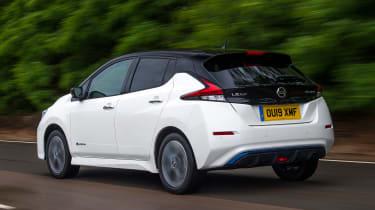Nissan Leaf e+ - rear