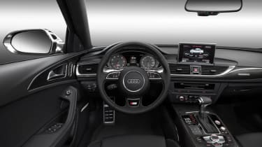 Audi S6 dash