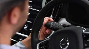 Volvo V60 - long termer first report steering wheel