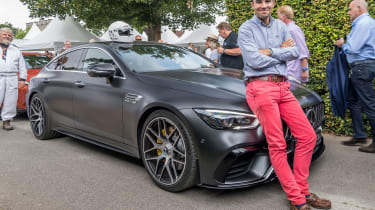 Mercedes-AMG GT four-door and Batch