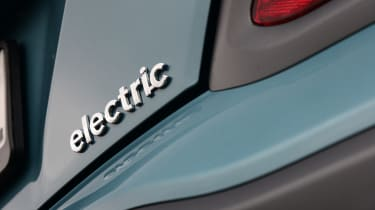 Hyundai Kona electric badge