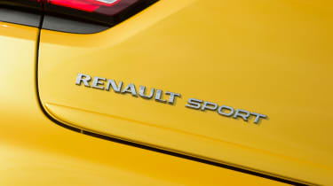 Renault Clio RS 220 Trophy - Renaultsport badge