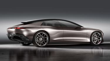 Audi Grandsphere concept - rear static