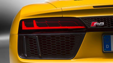 Audi R8 Spyder 2016 official - rear vent