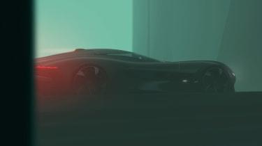 Jaguar Vision GT concept - rear tease