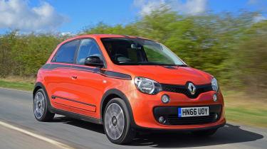 Renault Twingo GT vs Volkswagen up! vs Smart ForTwo Brabus