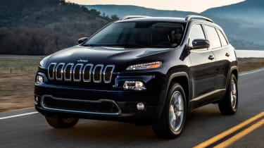 2014 Jeep Cherokee front tracking