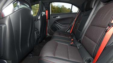 Mercedes-AMG A45 - rear seats