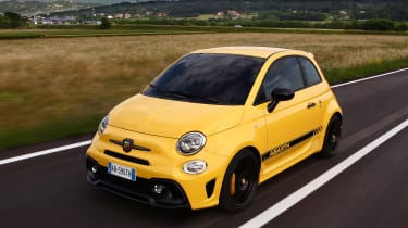 Abarth 595 Competizione - front action