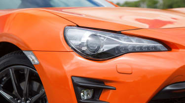 Toyota GT86 Orange Edition - headlight