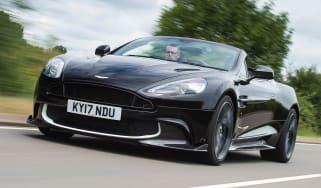 Aston Martin Vanquish S Volante - front
