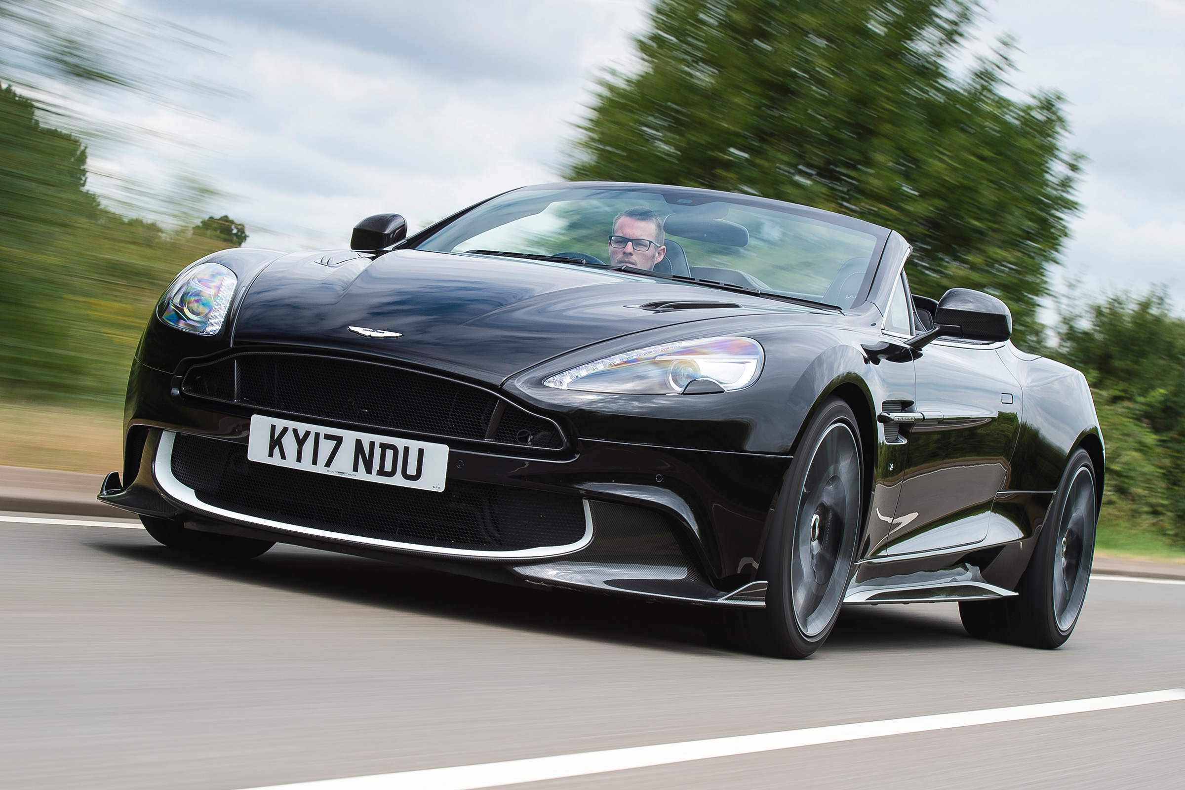 2017 Aston Martin Vanquish S Volante Review Auto Express