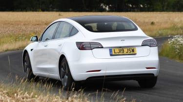 Tesla Model 3 - rear action