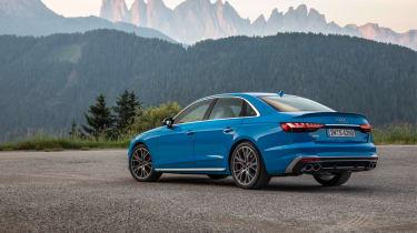 2019 Audi S4 saloon rear static