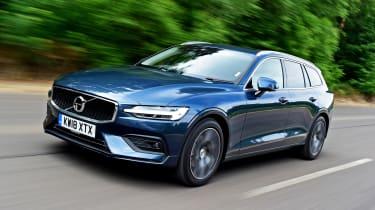 Volvo V60 - front tracking