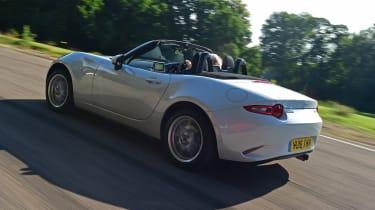Mazda MX-5 long term - rear tracking