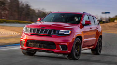 Jeep Grand Cherokee Trackhawk - front action