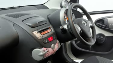 Used Toyota Aygo - interior
