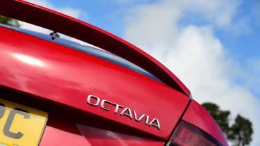 Skoda Octavia vRS Challenge - Octavia badge