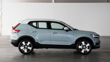 Volvo XC40 - Amazon Blue side