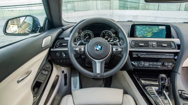 Inside, M Sport models get a sports steering wheel, digital dials, high-gloss plastics and plenty of leather.