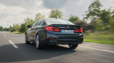 BMW Alpina D5 S - rear action