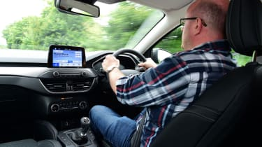 Long term review: Ford Focus Titanium X - Stuart Milne driving