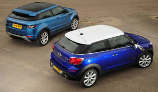 MINI Paceman vs Range Rover Evoque