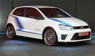 VW Polo R WRC front