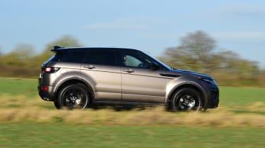 Range Rover Evoque SD4 - side