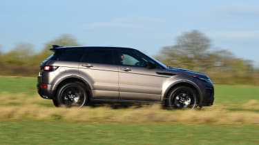 Range Rover Evoque SD4 - side