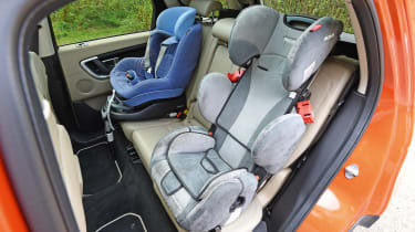 Land Rover Discovery Sport long-term - fourth report child seats