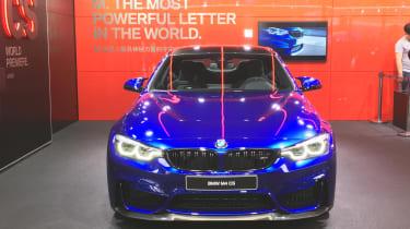 New BMW M4 CS nose