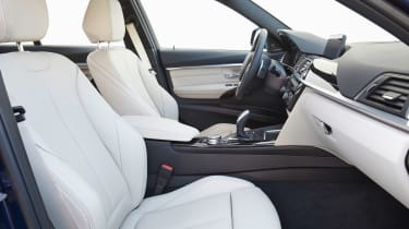 BMW 3 Series 2015 facelift - front seats