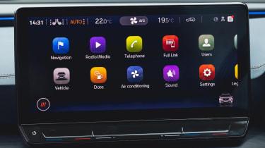 Cupra Formentor V1 - screen