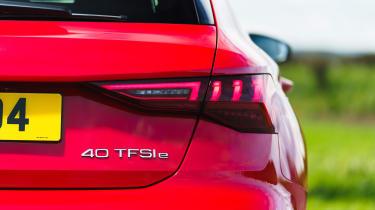Audi A3 40 TFSI e PHEV - rear badge
