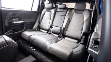 Mercedes GLB - studio rear seats