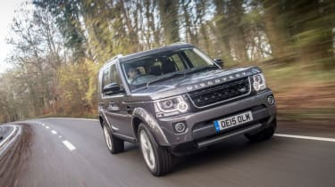 Land Rover Discovery Landmark front tracking