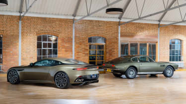 Aston Martin DBS Superleggera On Her Majesty's Secret Service - rear group