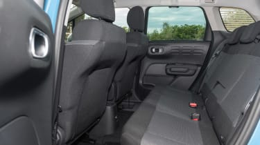Citroen C3 Aircross - rear seats