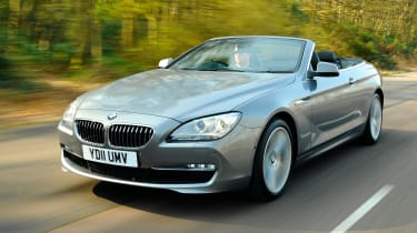 Best cars for under £20,000 - BMW 6 Series convertible
