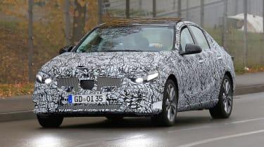 New Mercedes C-Class - spy shot 1