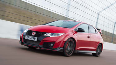 Honda Civic Type R long term - First Report front tracking